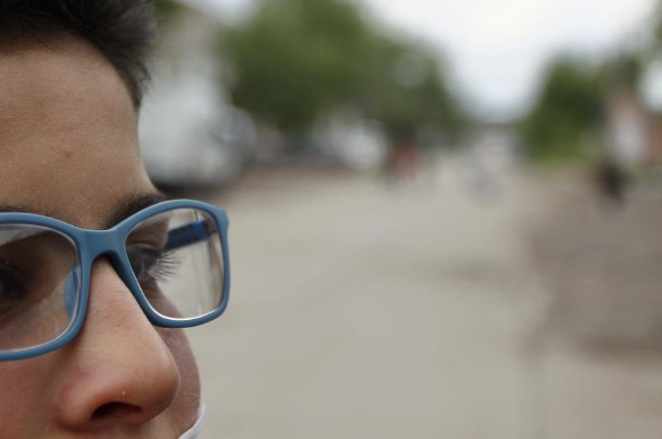 Algunos niños han recibido de esta fundación gafas graduadas para poder mejorar su calidad de vida.