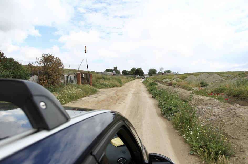 """Esta es la zona más vulnerable de la Cañada. Está ubicada en el sector 6. Se conoce como el """"camino sin asfaltar""""."""