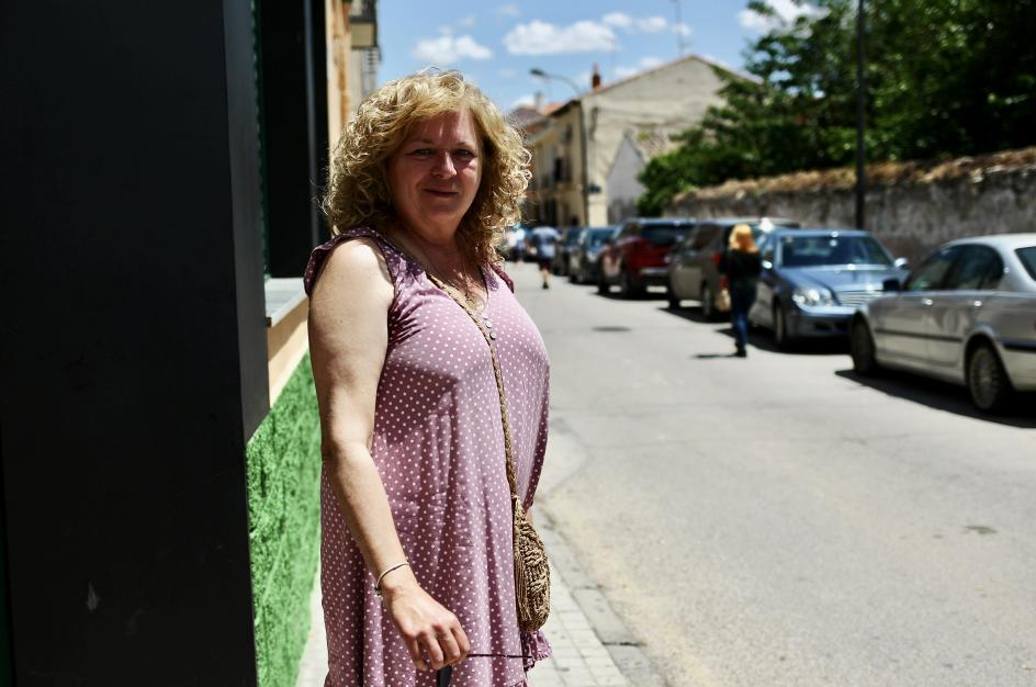 Carmen Fernández, vecina de Villaconejos.