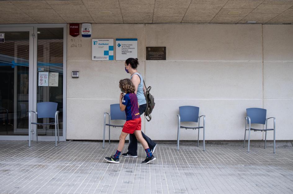Centro de Salud de Vilanova del Vallès.