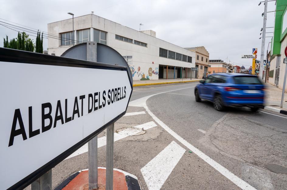 Entrada al municipio de Albalat dels Sorells.