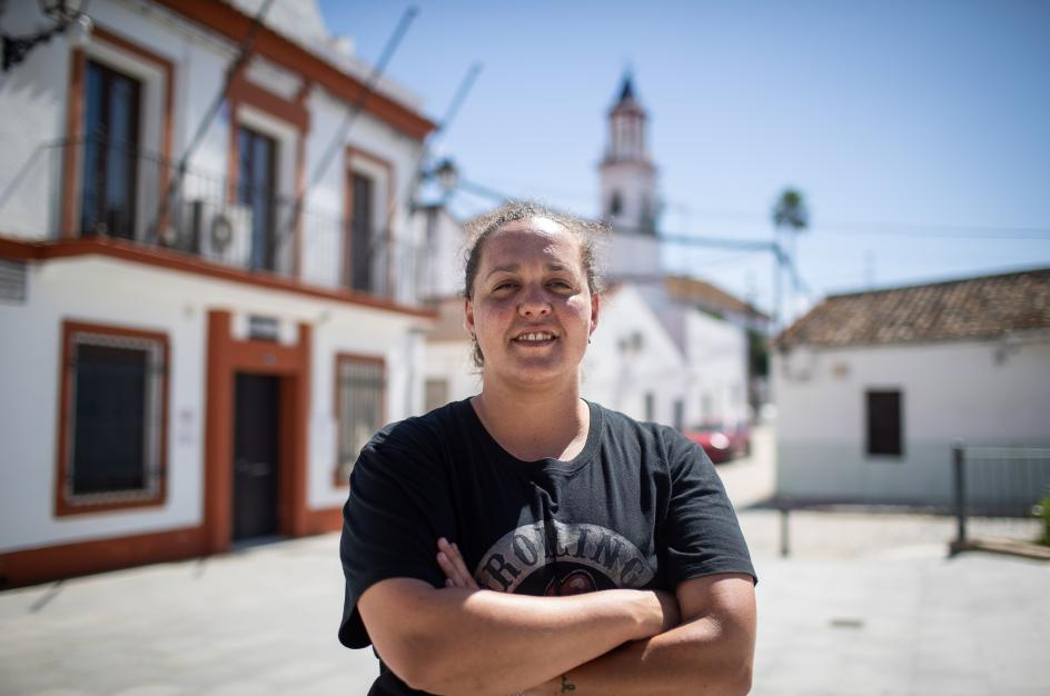 Verónica García Ortega, 32 años, funcionaria en el Ayuntamiento