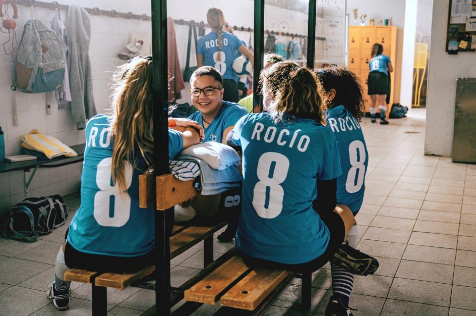 """""""Hice el camino de Santiago, viajé a Turín, competí en la liga Masters de fútbol…"""", recuerda con felicidad."""