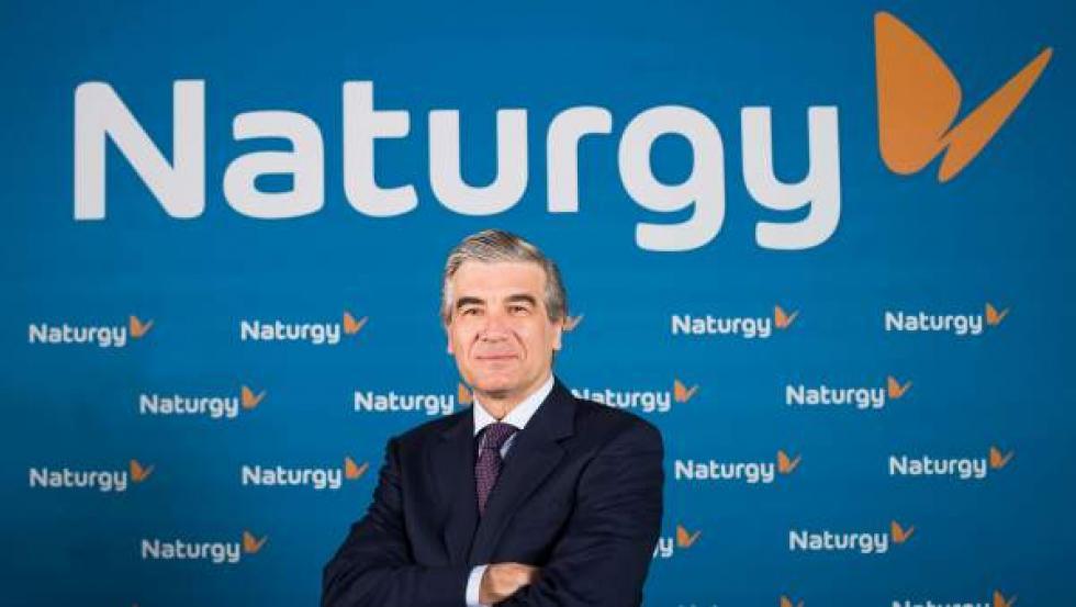 El presidente de Naturgy, Francisco Reynés, da a conocer la nueva imagen de la compañía energética.