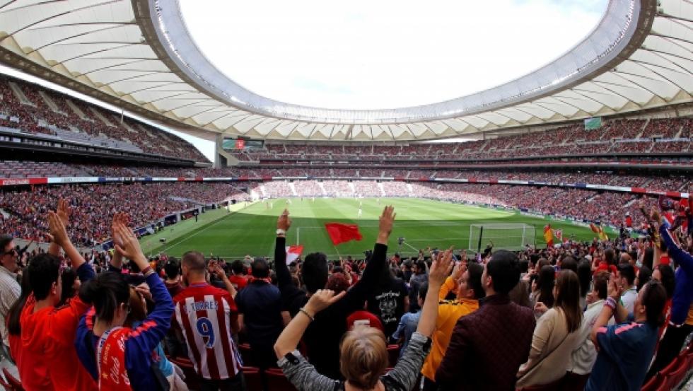 Récord de asistencia en un partido de clubes de fútbol femenino durante un partido en el Wanda