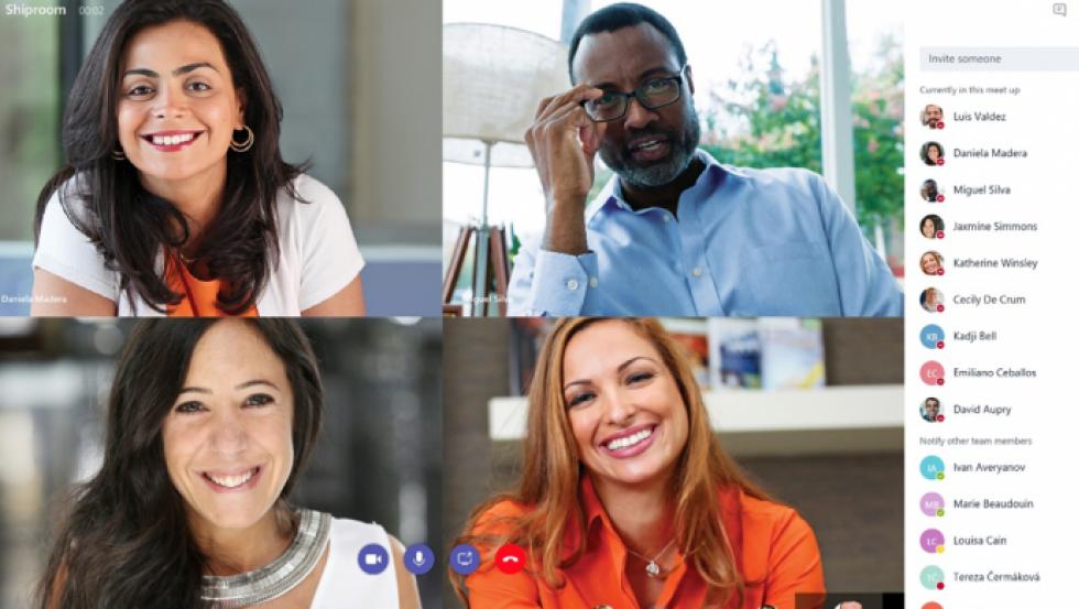 Microsoft Teams es una plataforma inteligente que ofrece un espacio de trabajo compartido.