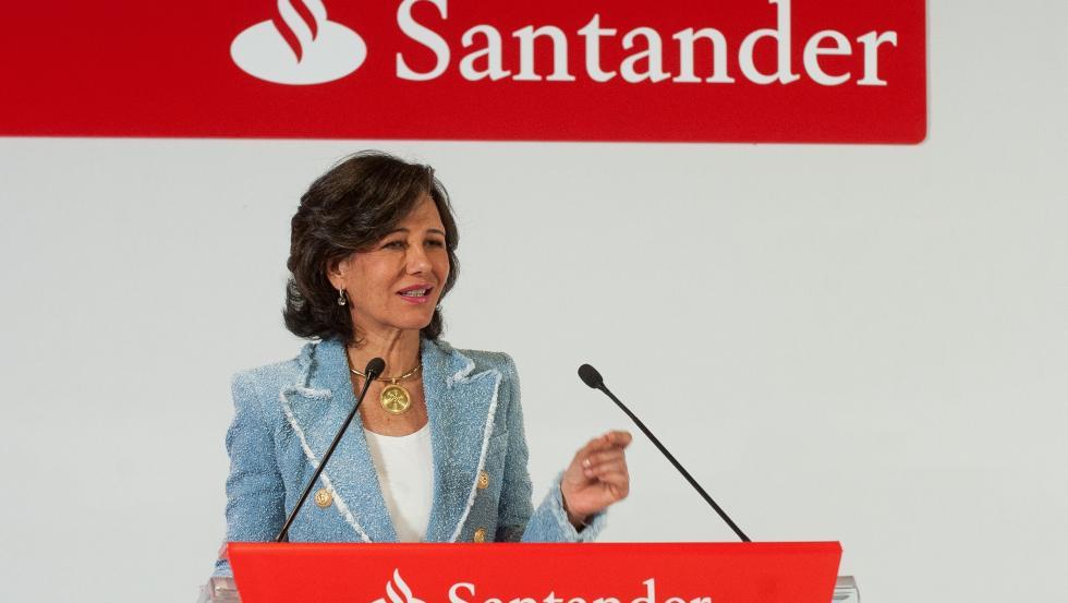 La presidenta de Banco Santander, Ana Botín, en la Conferencia Internacional de Banca 2019