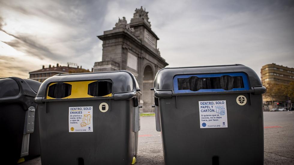 Los españoles cuentan con 659.628 contenedores y puntos de reciclaje.