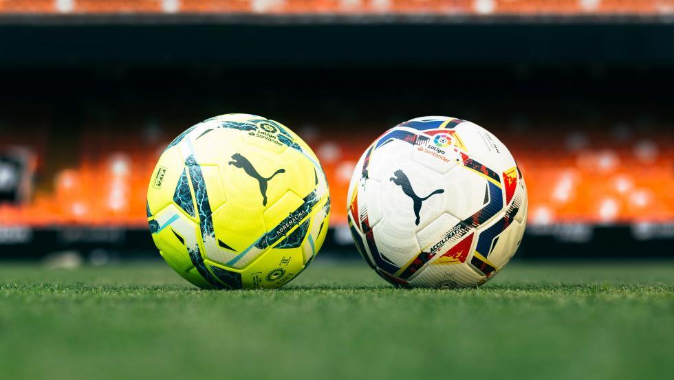El balón Adrenalina, en amarillo y flúor, y el Accelerate, en blanco, son las nuevas estrellas de esta temporada.