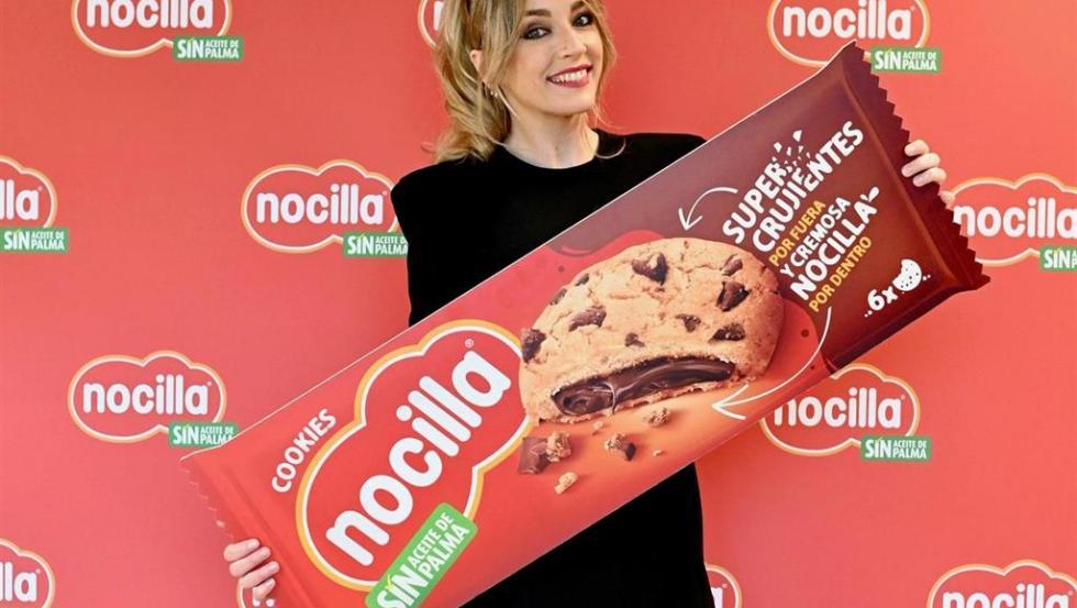 Anna Simón es la embajadora de Nocilla Cookies