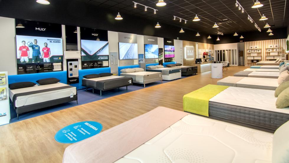 La nueva tienda de Maxcolchon se encuentra en Leganés (Madrid).