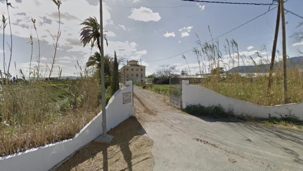 El centro de menores de Alhama (Murcia) conocida como Casa del Ral.