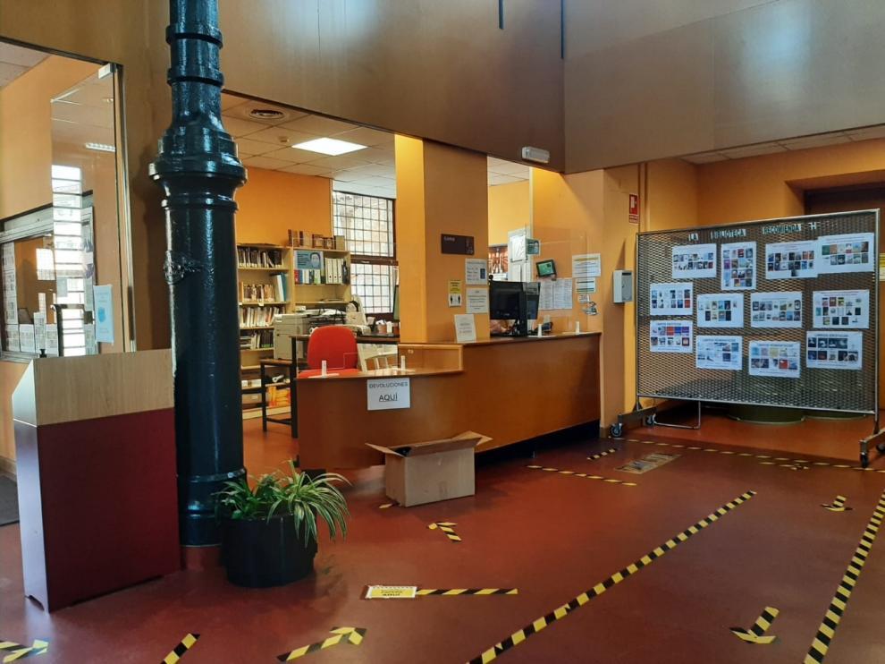 Zaragoza.- Las bibliotecas municipales reabren sus puertas este ...
