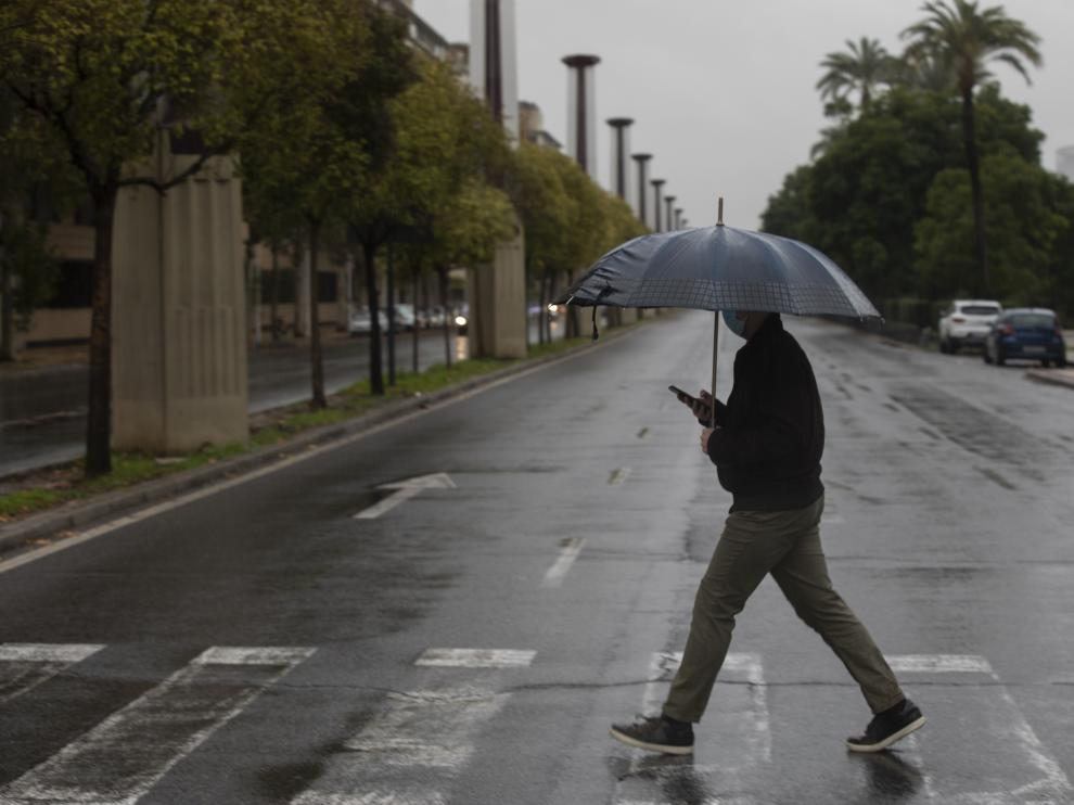 Una nueva borrasca que se formará al oeste de Portugal dejará lluvias en las islas