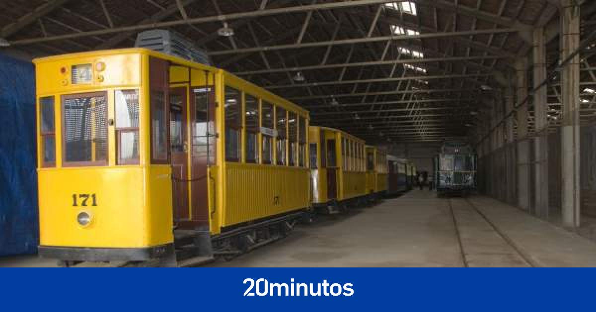 Trenes Con Mucha Historia Esperan En Naves Al Futuro Museo Valenciano Del Transporte