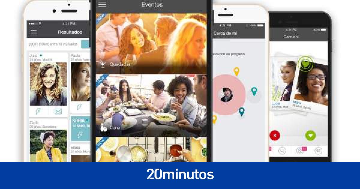 Tinder, Meetic, Badoo, Happn las apps que ayudan a