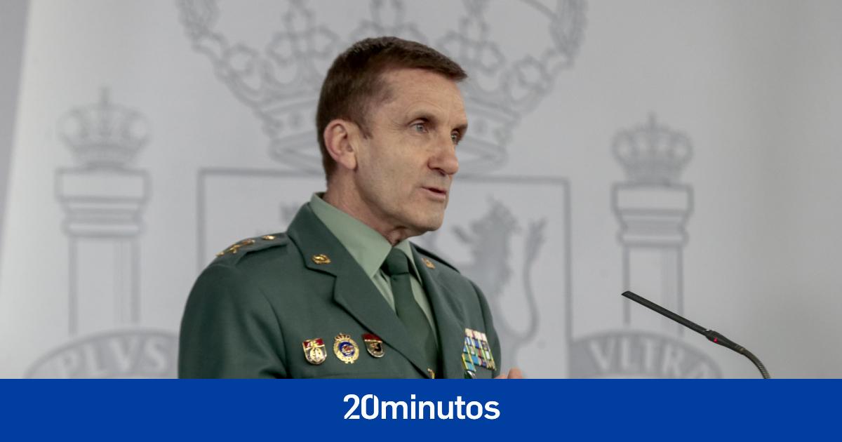 Ascienden al general de la Guardia Civil que protagonizó la polémica por el rastreo de bulos sobre la covid