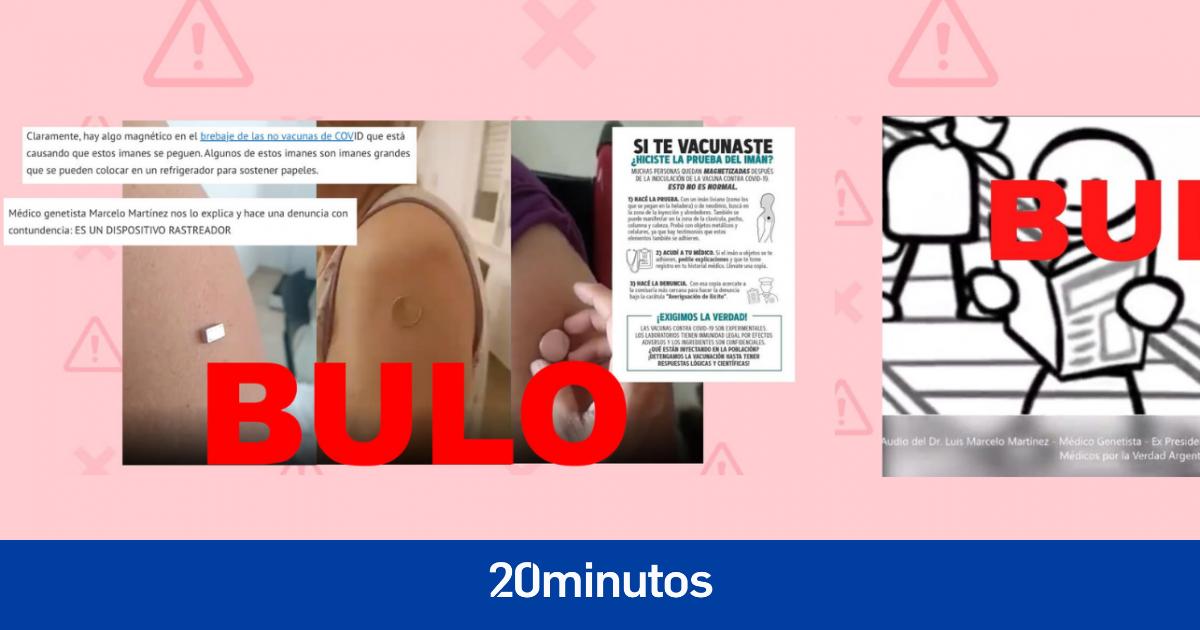La verdad sobre que las vacunas contienen  metales pesados , atraen imanes y  dispositivos rastreadores