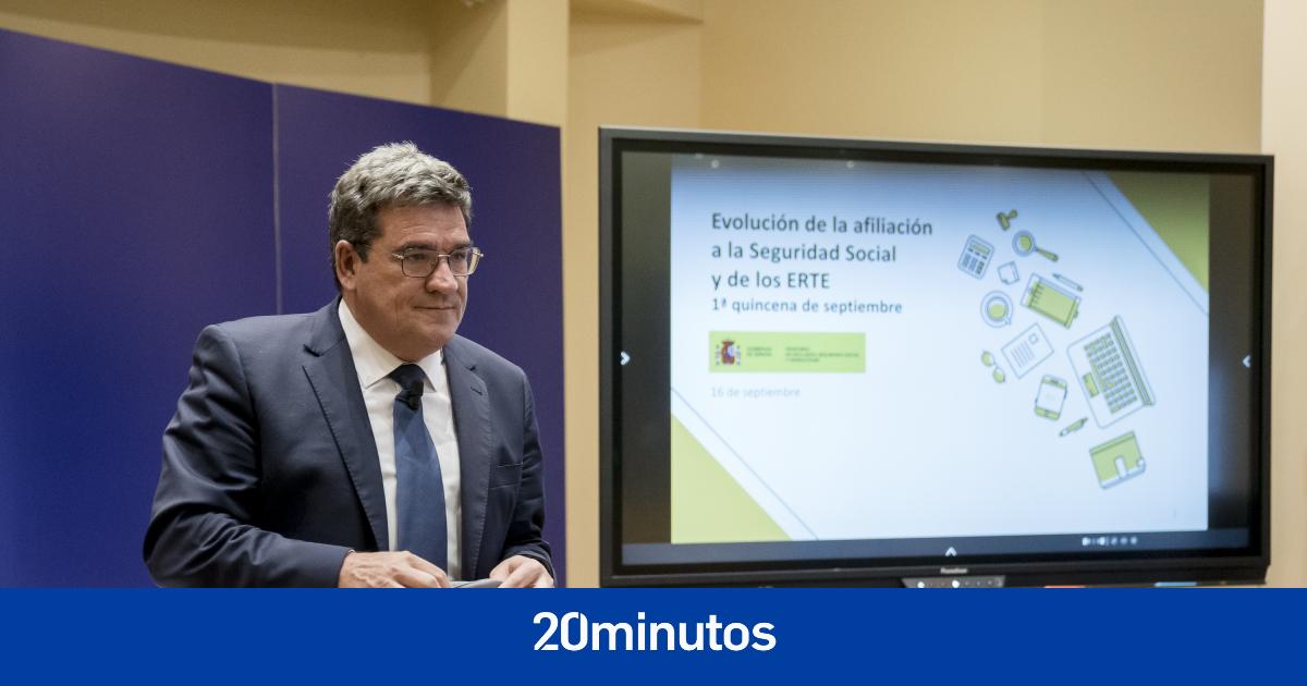 Los trabajadores en ERTE caen hasta el 0,8% en la Región de Murcia, el menor porcentaje por autonomías