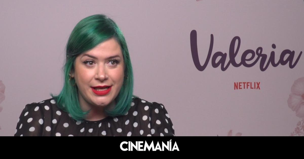 """Elísabet Benavent ('Valeria'): """"En cuanto cumples los 30 te tratan como un útero con patas"""""""
