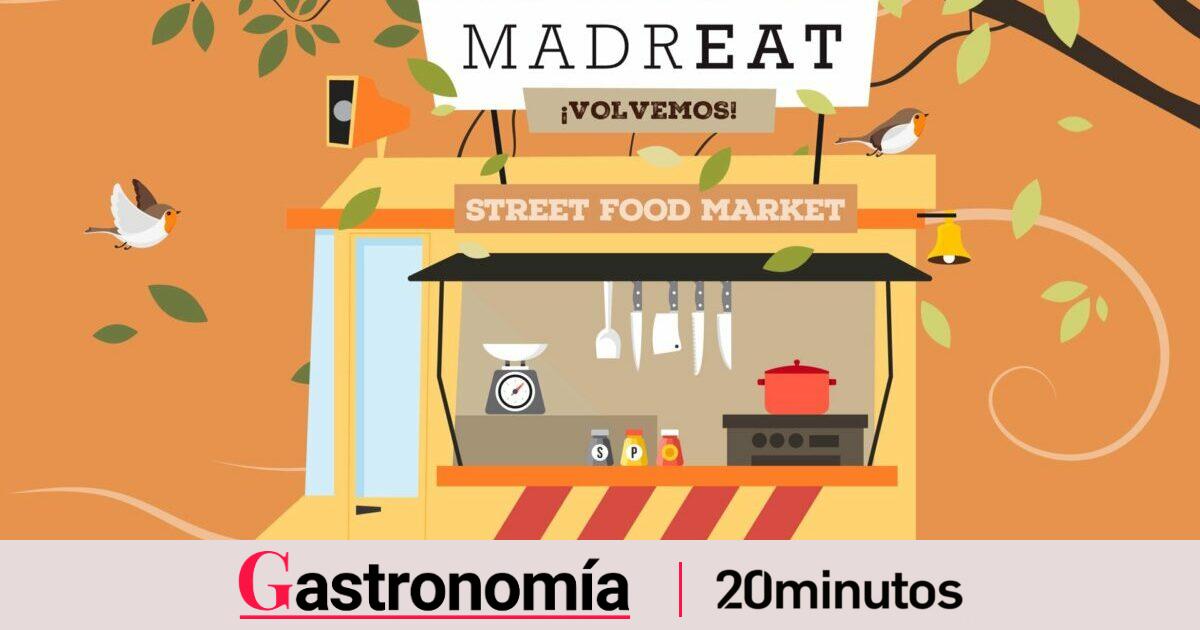 Vuelven a Madrid las  food trucks : este fin de semana regresa el  Street Food Market