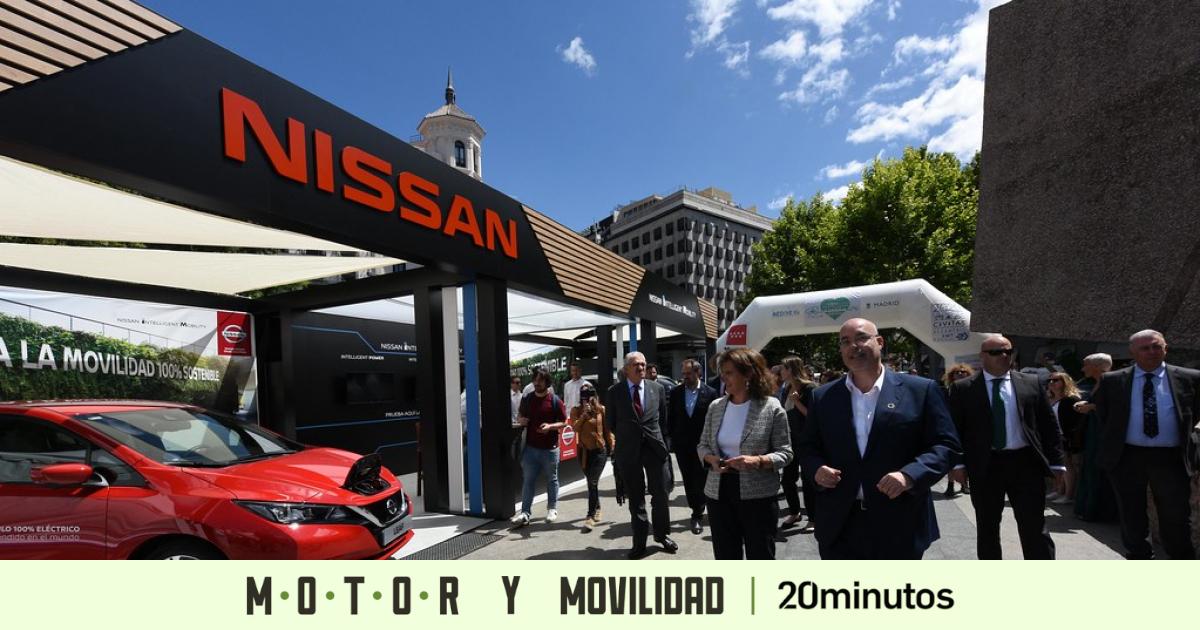 La Plaza de Colón, escaparate de la electromovilidad con ocasión de la Feria del Vehículo Eléctrico de Madrid