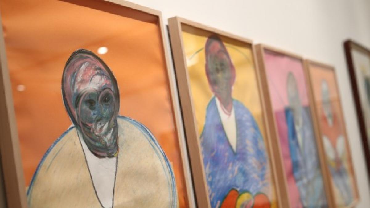 Medio centenar de dibujos firmados por Francis Bacon en la exposición 'La cuestión del dibujo'