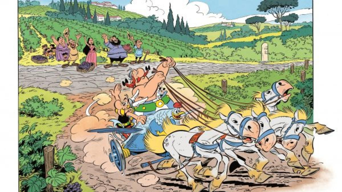 Muere a los 92 años el dibujante Albert Uderzo, uno de los creadores de 'Astérix'