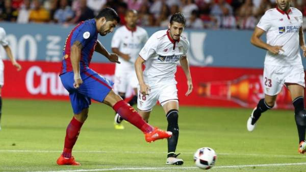 Horario y dónde televisan el Sevilla vs Barcelona de la ...