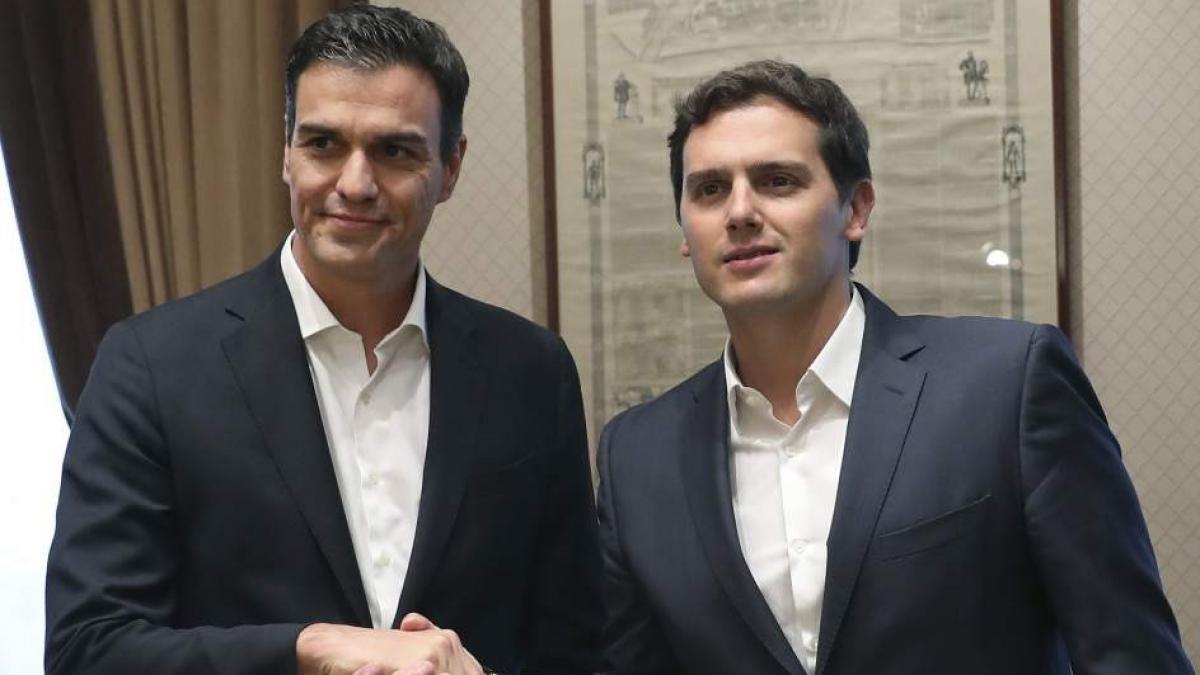Ciudadanos se compromete a no pactar ni con Sánchez ni con el PSOE tras las elecciones generales de abril