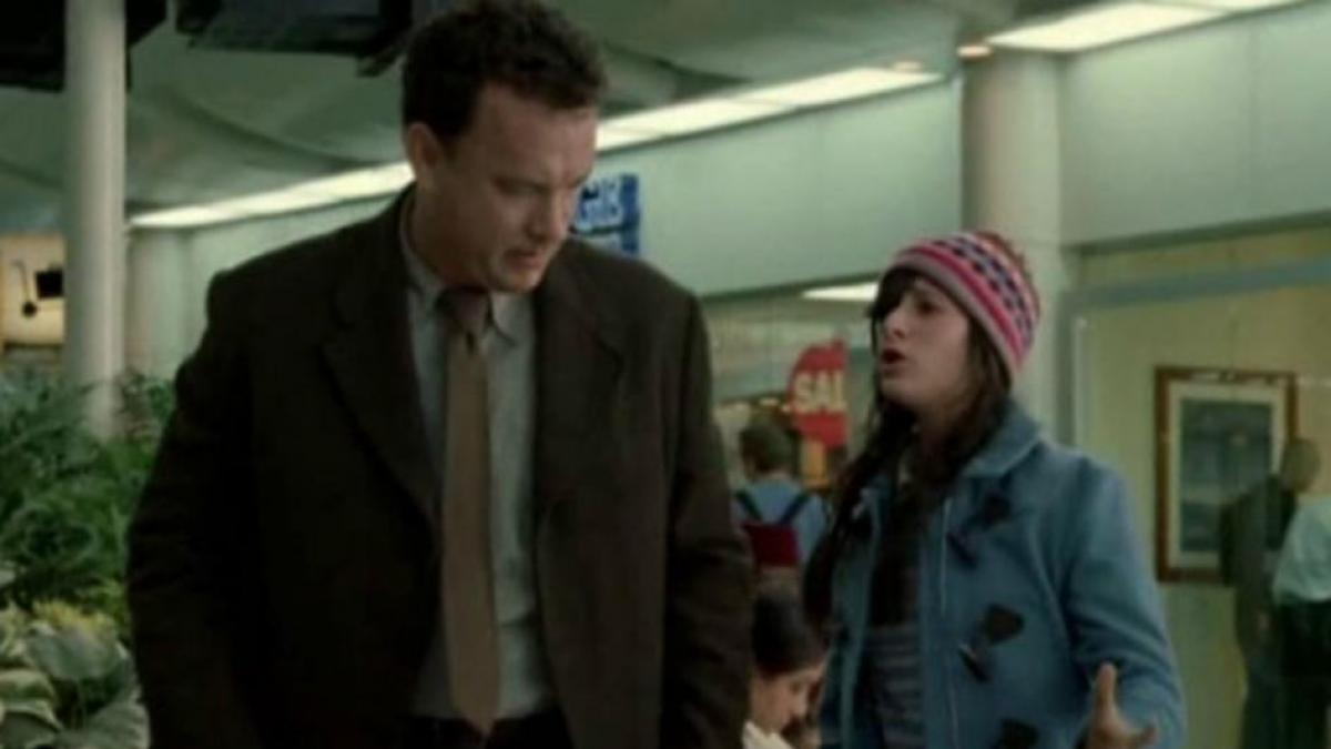 When Steven Spielberg's daughter made a brief entry in The Terminal (2004)