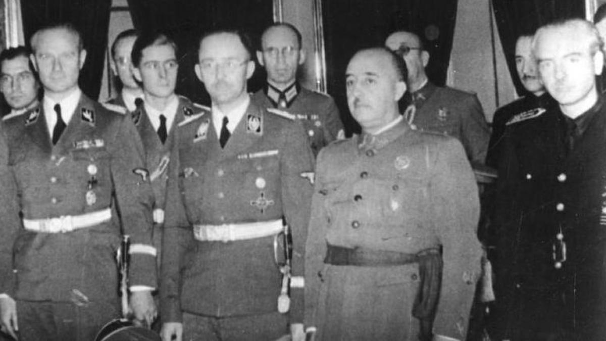 """El plan oculto de Franco con la Policía secreta nazi para acabar con el """"enemigo"""" de España"""