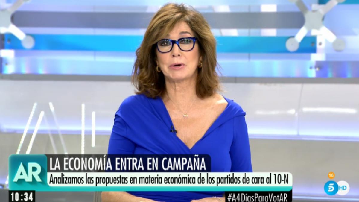 "Ana Rosa sobre Vox: ""Ni son franquistas ni son fascistas"""