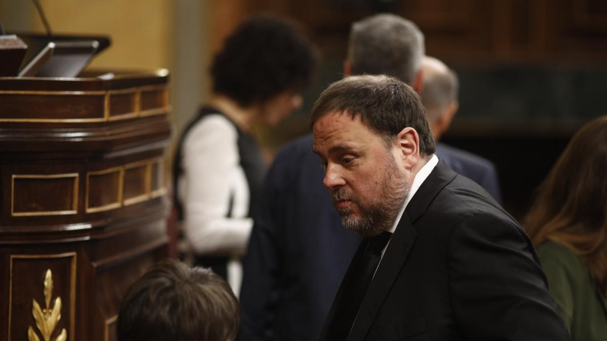 La UE dice que se debe considerar a Junqueras eurodiputado, aunque estaría inhabilitado por la sentencia del 'procés'