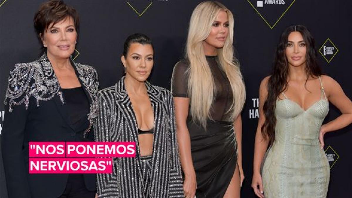 El embarazoso discurso de las Kardashians en los premios 'Peoples Choice'