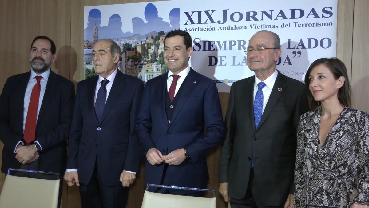 """Moreno asegura que España necesita """"el relato"""" de las víctimas del terrorismo"""