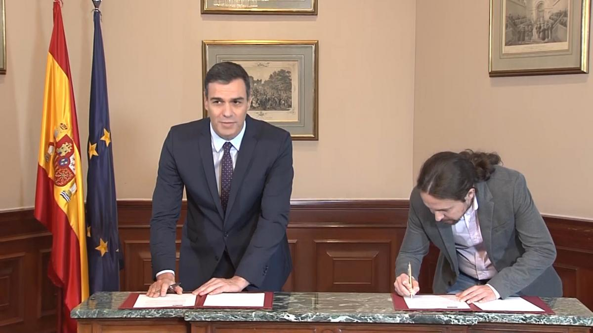 Sánchez pide por carta a la militancia que apoye el acuerdo con UP