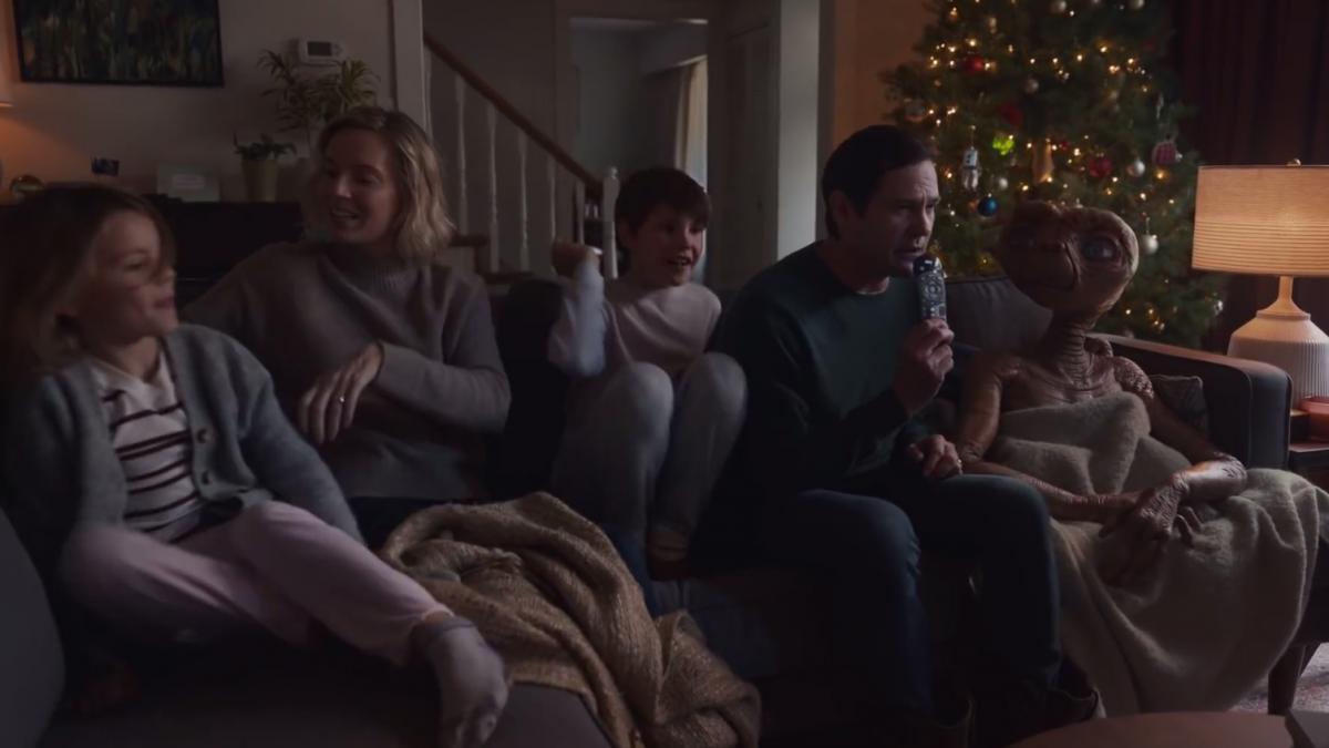 E.T. vuelve a casa por Navidad en el nuevo anuncio de Sky