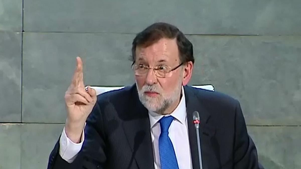 """Rajoy: """"Un presidente no puede ser frívolo ni hacer caso a doctrinarios"""""""