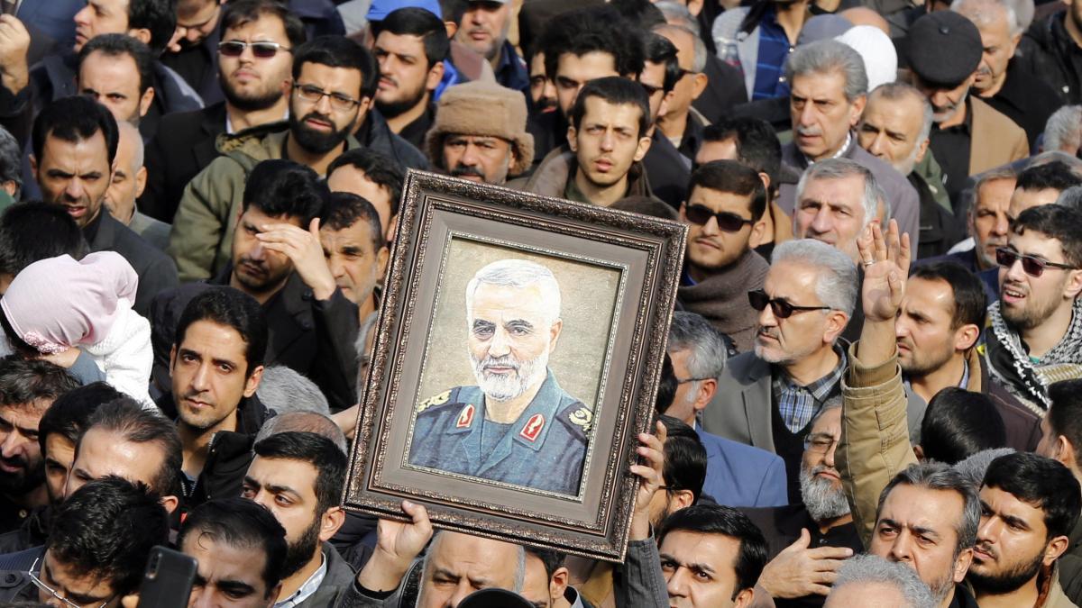 Resultado de imagen para El asesinato de Soleimani abre un debate jurídico en Estados Unidos sin reglas ni precedentes claros