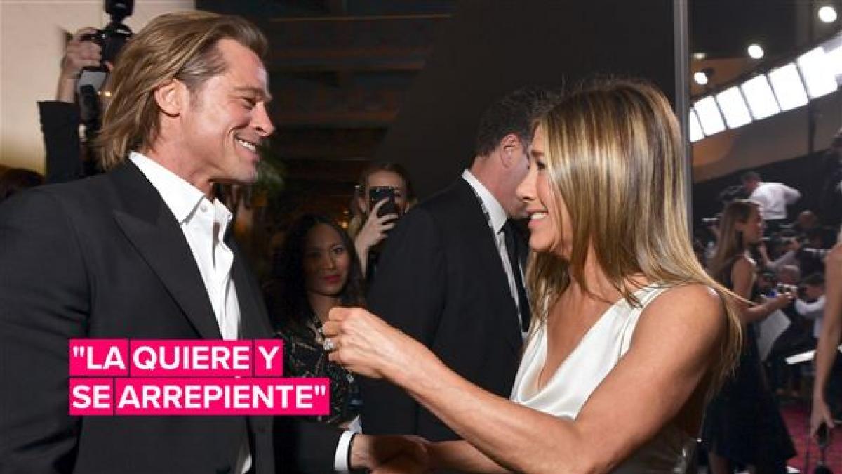 Esta foto de Brad & Jen en los premios SAG causó alboroto