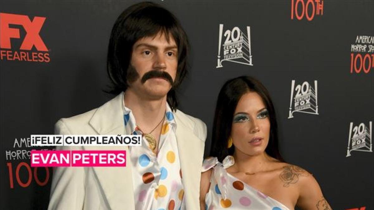 Evan Peters salió con muchas famosas antes de Halsey