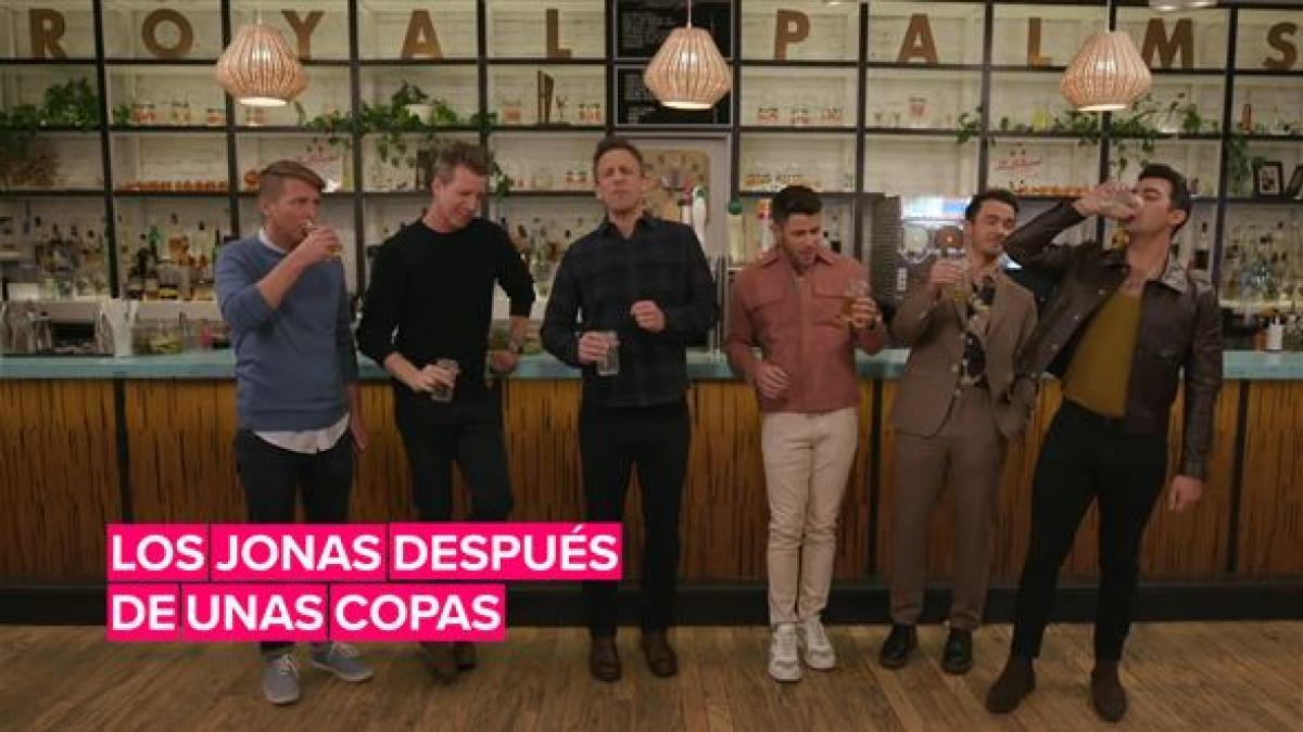 Así escriben y cantan los Jonas Brothers después de unas copas