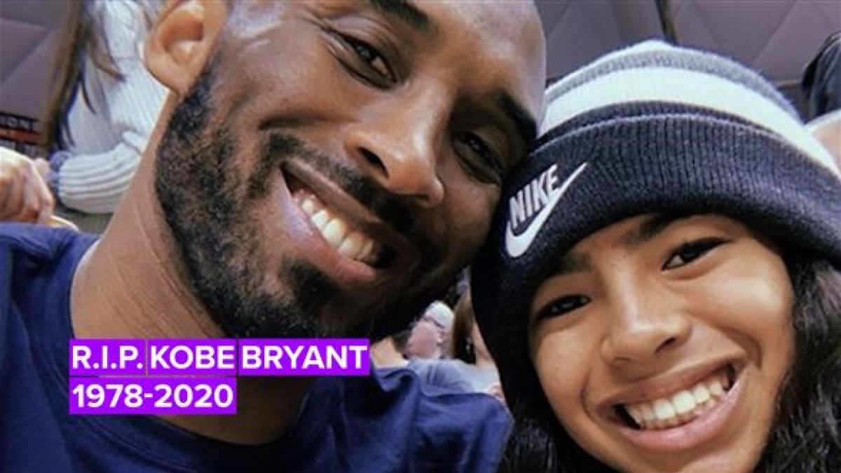 Dolor por la muerte de Kobe Bryant y de su hija
