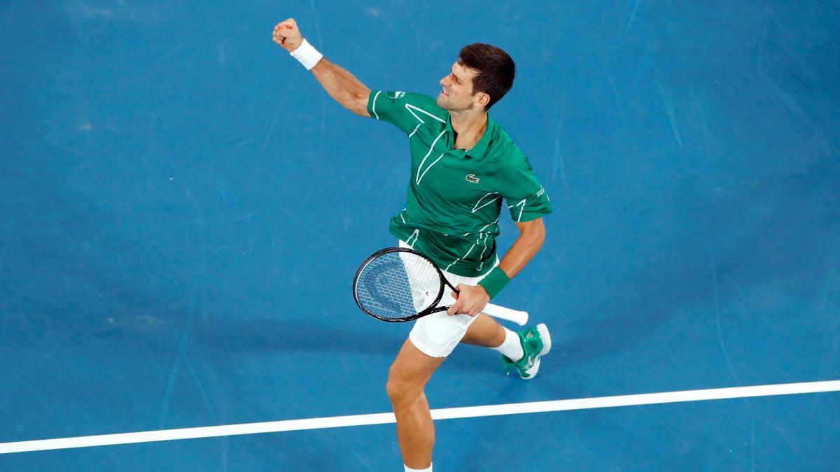 Djokovic vuelve a la final del Australian Open