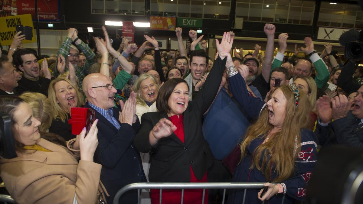 El Sinn Féin gana las elecciones en Irlanda y acaba con el bipartidismo