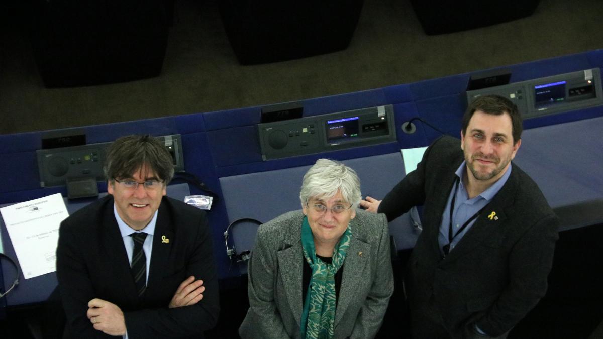 Puigdemont, Comín y Ponsatí quedan a la expectativa de la Eurocámara tras la vista por el suplicatorio del Supremo