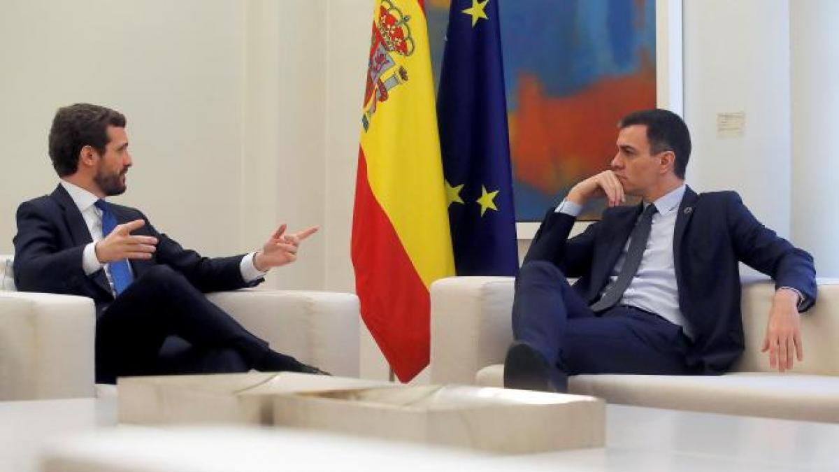 La mesa de diálogo y la elección de Delgado dinamitan la posibilidad de grandes acuerdos entre PSOE ...