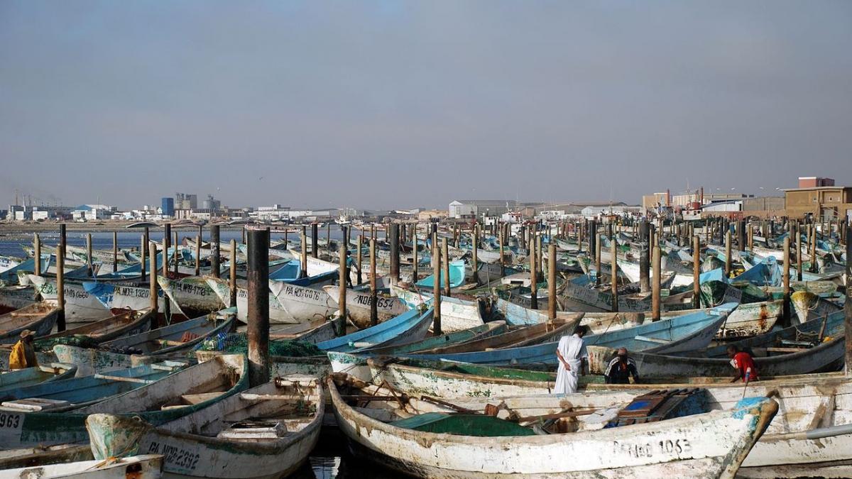 Cinco pescadores desaparecidos al chocar su barco con un buque minero en Mauritania