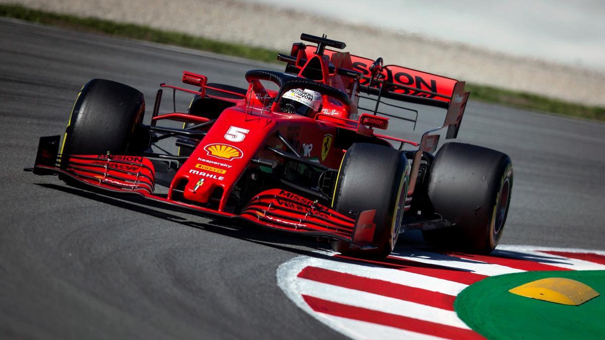 Vettel manda y Hamilton rompe en el penúltimo día de la pretemporada